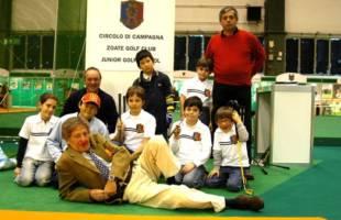 foto gruppo junior golf zoate