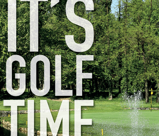 IT'S GOLF TIME!!