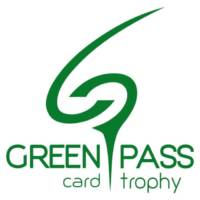 Green Pass Card Trophy